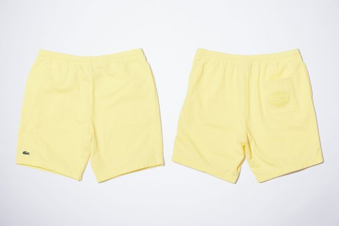 lacoste-supreme-yellow-shorts-2017-spring-summer-17