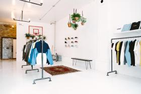 AIMÉ LEON DORE LAUNCHES NYC CONCEPT SHOP