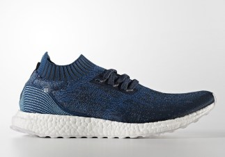 Just yesterday we got an update on an official release date for the latest Parley For The Oceans x adidas collaboration containing the Ultra Boost 3.0 and women's Ultra Boost X, and now there's some even bigger news about the pack: it contains another model. The Ultra Boost Uncaged will also join the set in a matching deep blue shade, constructed in Primeknit and recycled ocean plastic waste just like all previous models from Parley and adidas. Expect the wavy blue colorway of the Ultra Boost Uncaged to release on May 10th with the rest of the latest Parley x adidas collection.