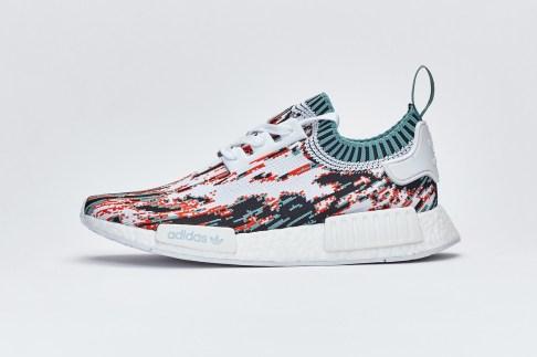 Sneakersnstuff New Datamoshing-Inspired adidas NMD_R1 Primeknit Pack