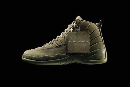 Public School's Air Jordan 12 Drops Soon