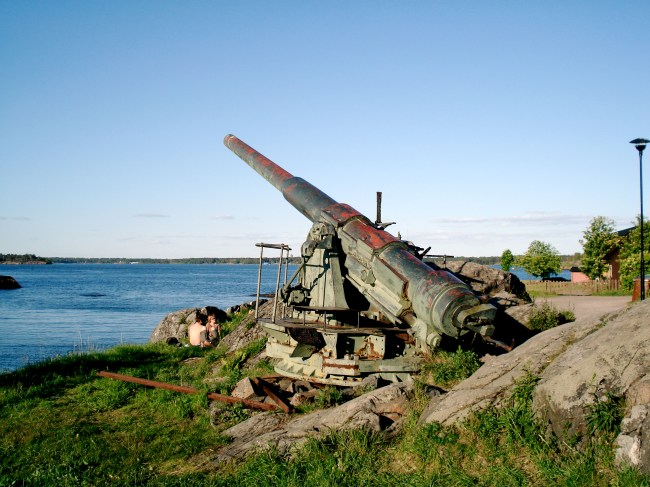Suomenlinna Coastal Cannon