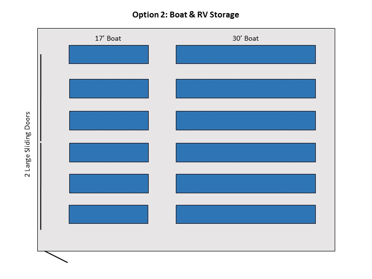 boat storage floor plan