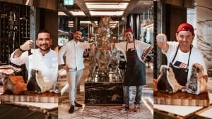 Dry Ager Guy X Bull & Bear Waldorf Astoria Dubai