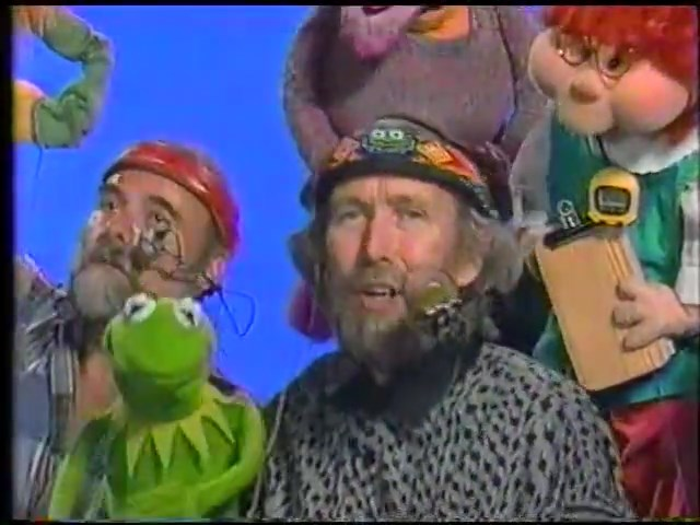 jim henson hour showing the muppets