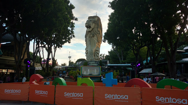 Sentosa Merlion Statue