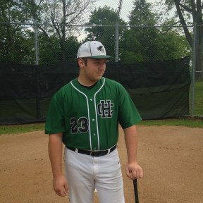 Holy Cross junior J.J. Backus looks ahead to his senior year baseball career as a Crusader. (Courtesy: Terri Backus)