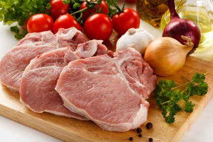 Raw_Pork_Chops_on_Cutting_Board_Small