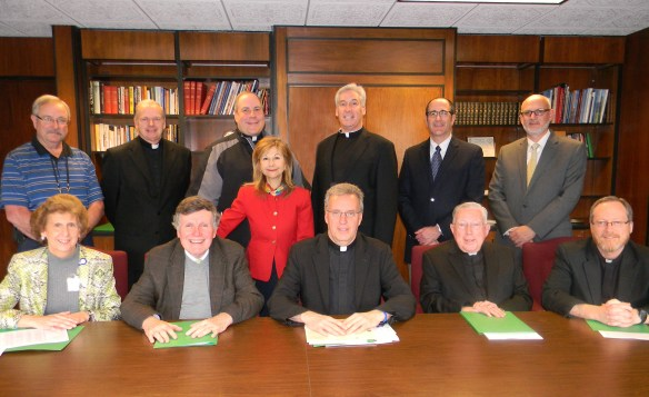 Diocesan Vocations Golf Committee 2016.jpg