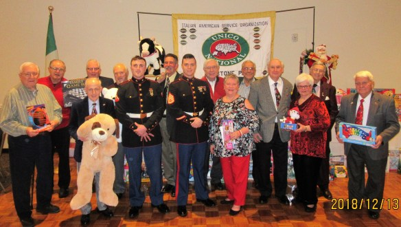 UNICO Toys for Tots