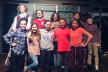 Barnum cast members include, first row, from left: Sarah Pugliese, Emma Christianson, Ava Kulenich, Samantha Greenfield, Old Forge; and Giada Gowden.. Second row, same order: Max Snyder, Emily Nowikowski, Caelan Baden, Locan Baden, and Dylan Ofner.