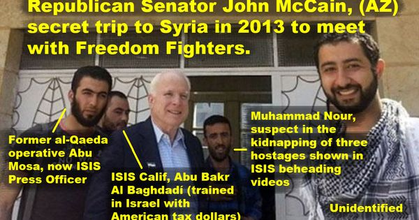 McCain and ISIS team