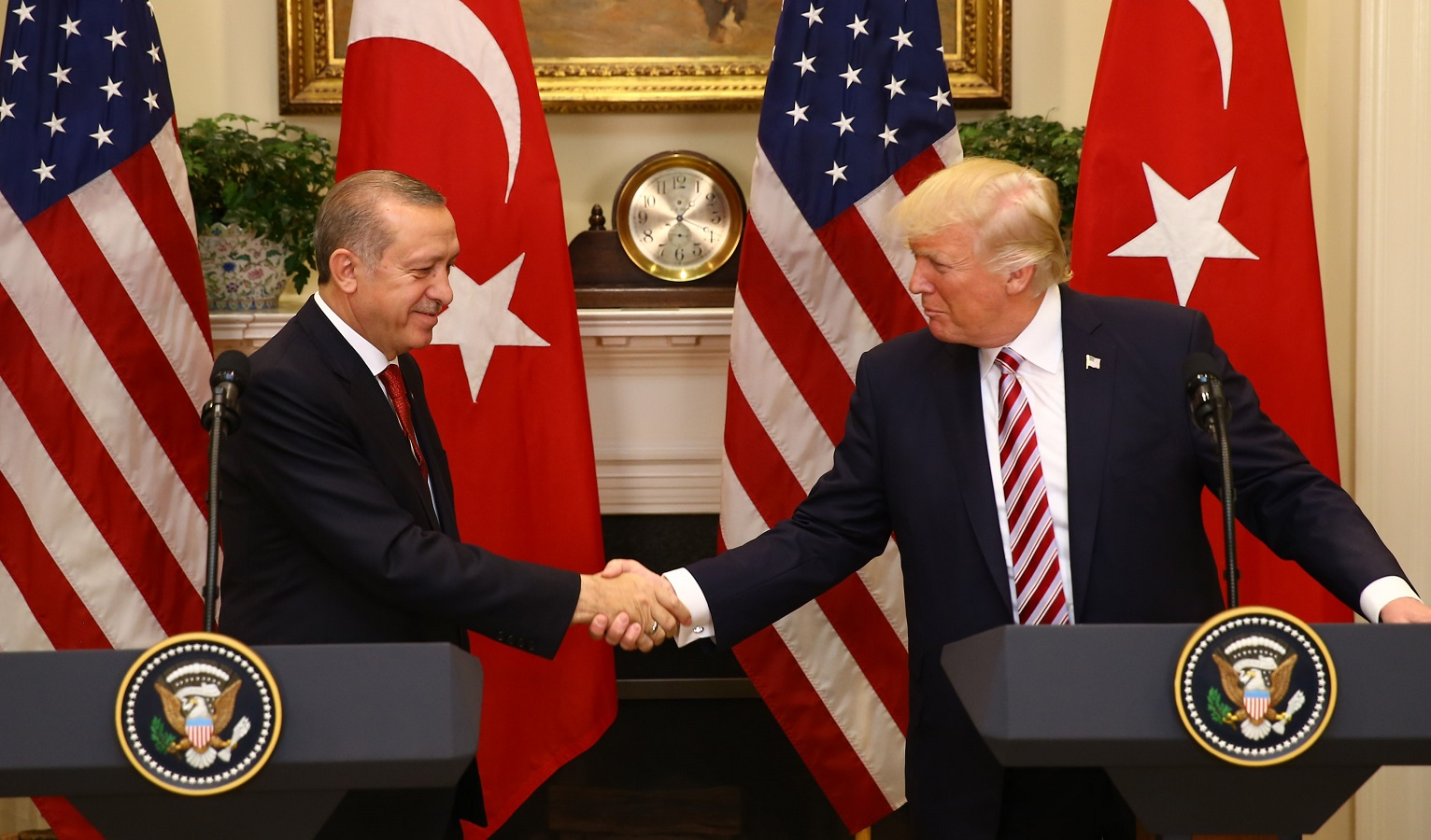one just convince  US Turkey left Did there's that the no