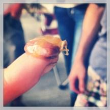 An oyster crab. They sorta pop weirdly.
