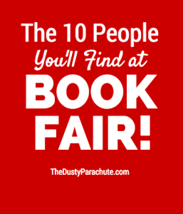 The 10 People You'll Find at Book Fair!