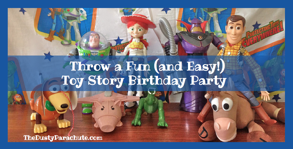 Throw a Fun and Easy Toy Story Birthday Party The Dusty