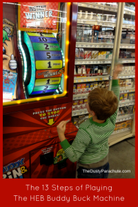 HEB Buddy Buck Machine