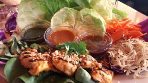 Cheesecake factory Asian lettuce wraps