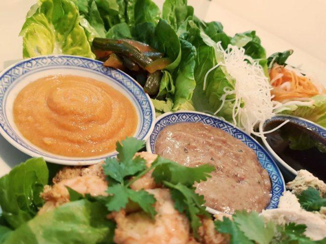 Vietnamese peanut dipping or stir fry sauce
