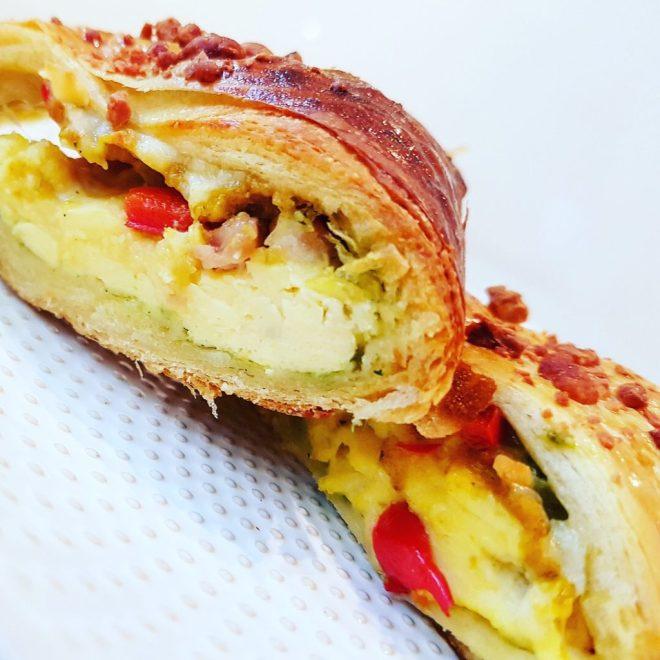 Italian brunch croissant crescent ring