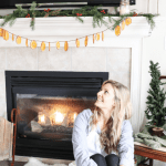 How To Make A Christmas Mantle Garland The Duvall Homestead