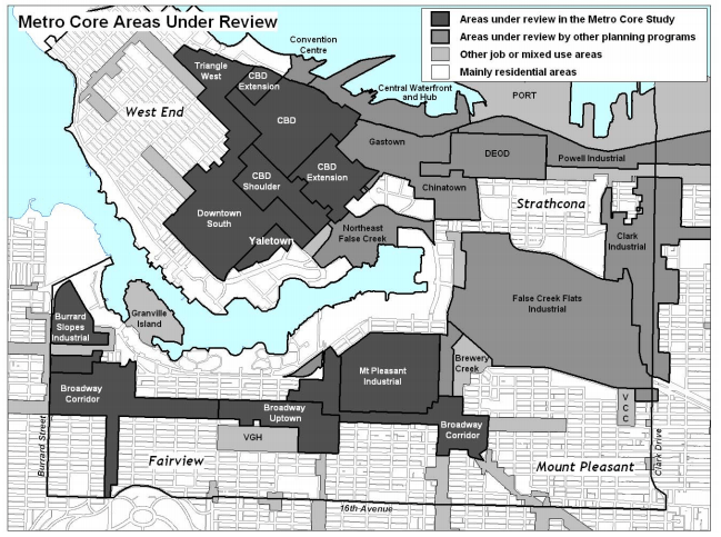 Metro Core Jobs & Economy Land Use Plan: