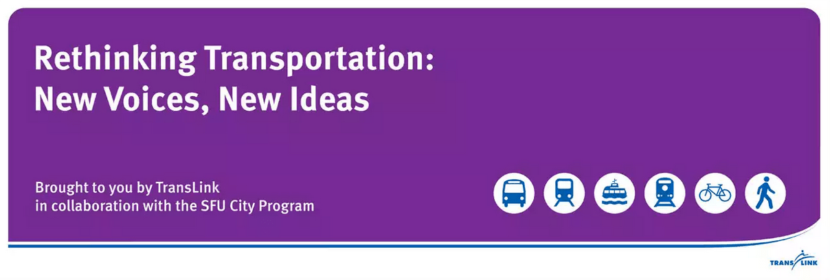 Rethinking Transportation- New Voices, New Ideas
