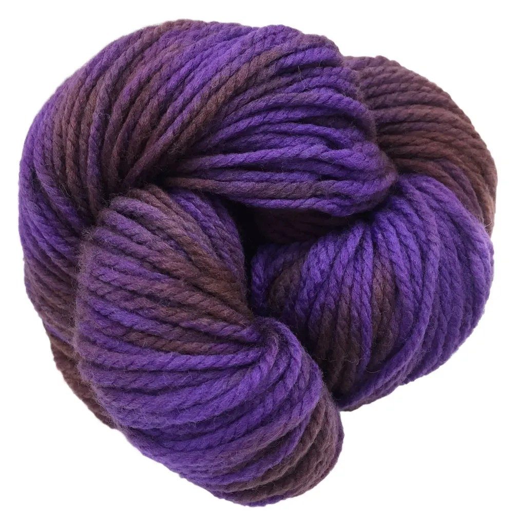 Squish Like Grape on Cuddle yarn
