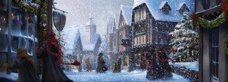 hogsmeade_pm_b3c10m3-snowyhogsmeadewithronhermioneandinvisibleharry_moment