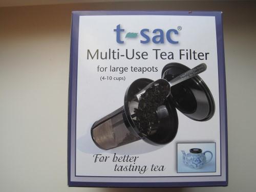 Permanent filter t-sac groot