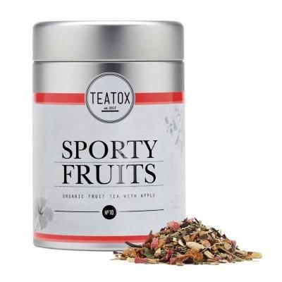 Teatox Bio Thee Sporty fruits 90 Gram