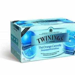 Twinings Sinaasappel kaneel thee 25st
