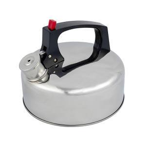 Bo-Camp - Fluitketel - Vision - 1,8 Liter - RVS