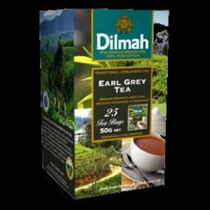 Dilmah earl grey thee zak 25 s