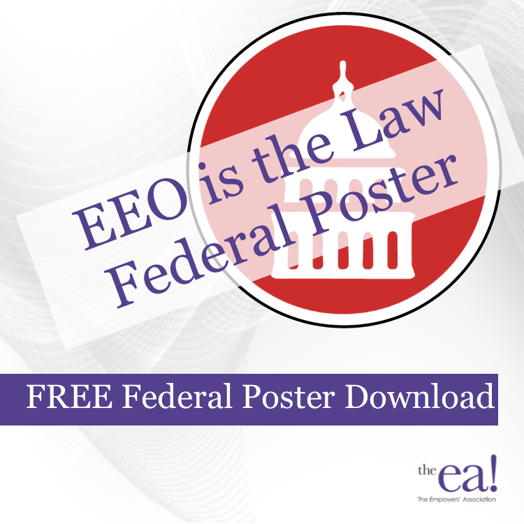 eeo is the law federal poster the