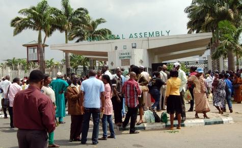 Image result for National Assembly Staff Begin Strike Monday, Threaten Buhari's Budget Presentation