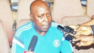 Image result for Lobi Stars head coach, Godwin Uwua