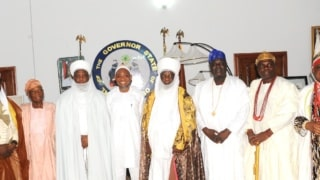 Image result for Sultan of Sokoto joins Muslims in Osun to pray for Nigeria