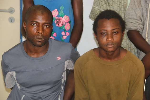 Image result for Police rearrest two suspects, four others who escaped from Kogi Custody
