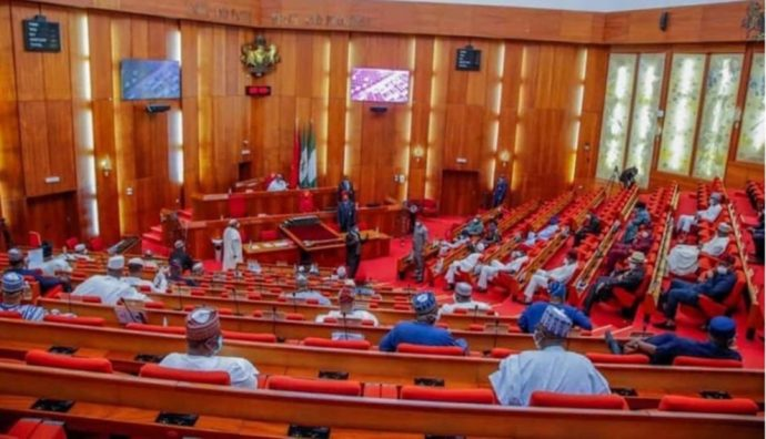 Floor of the senate scaled Senate rules out requests for new Nigeria constitution