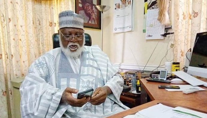 Abdulsalami Abubakar e1603387472366 Abdulsalami speaks on his alleged link to helicopter supplying food to bandits