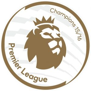 premier league champions badge 15/16