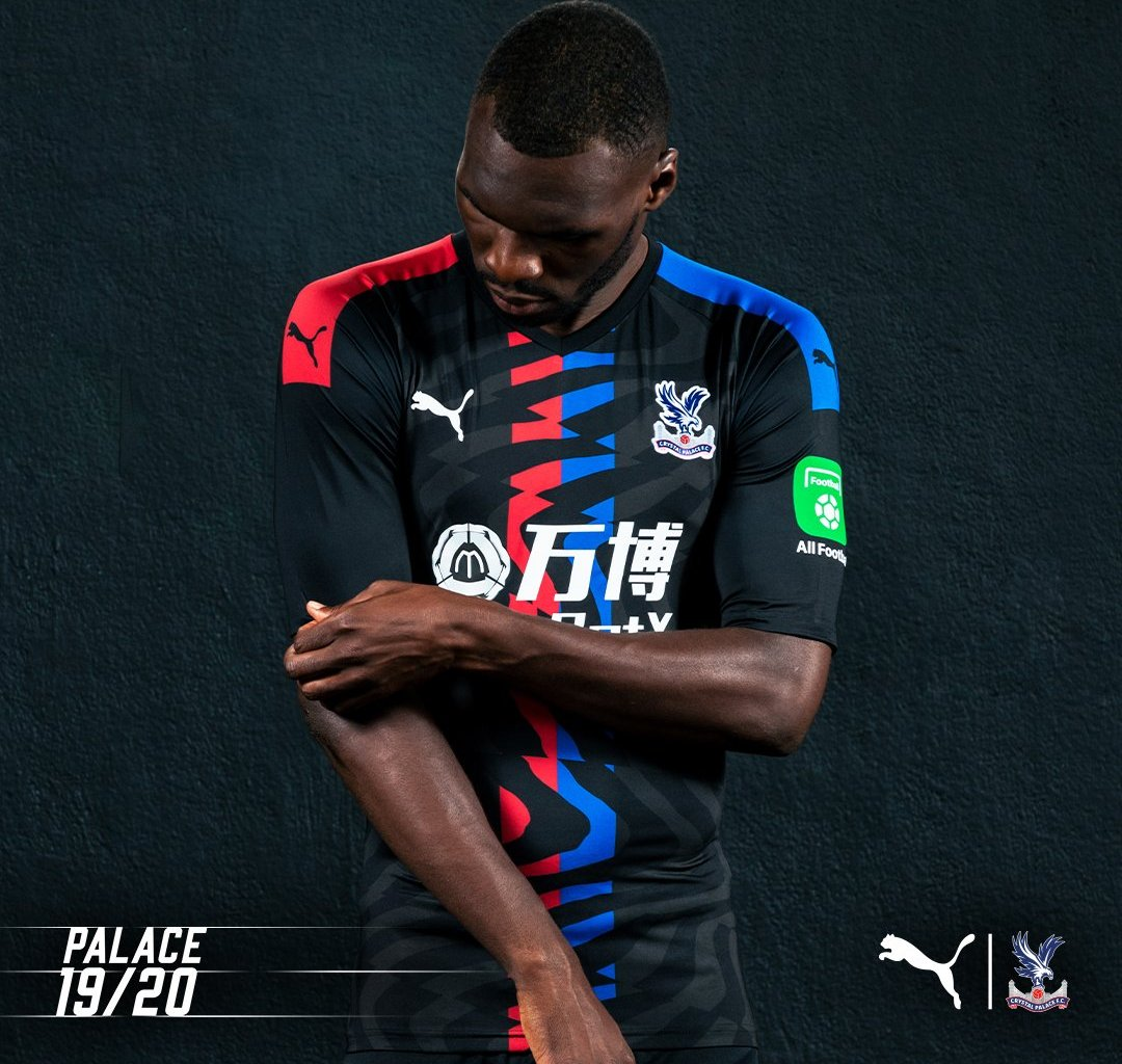 Benteke in the new kit