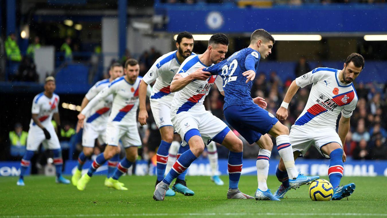 Lacklustre Palace Fail To Challenge Off Colour Chelsea