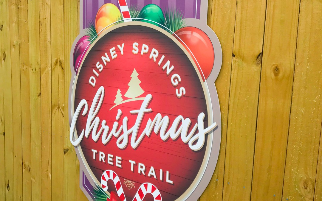 The Christmas Tree Trail at Disney Springs: Back and Better!
