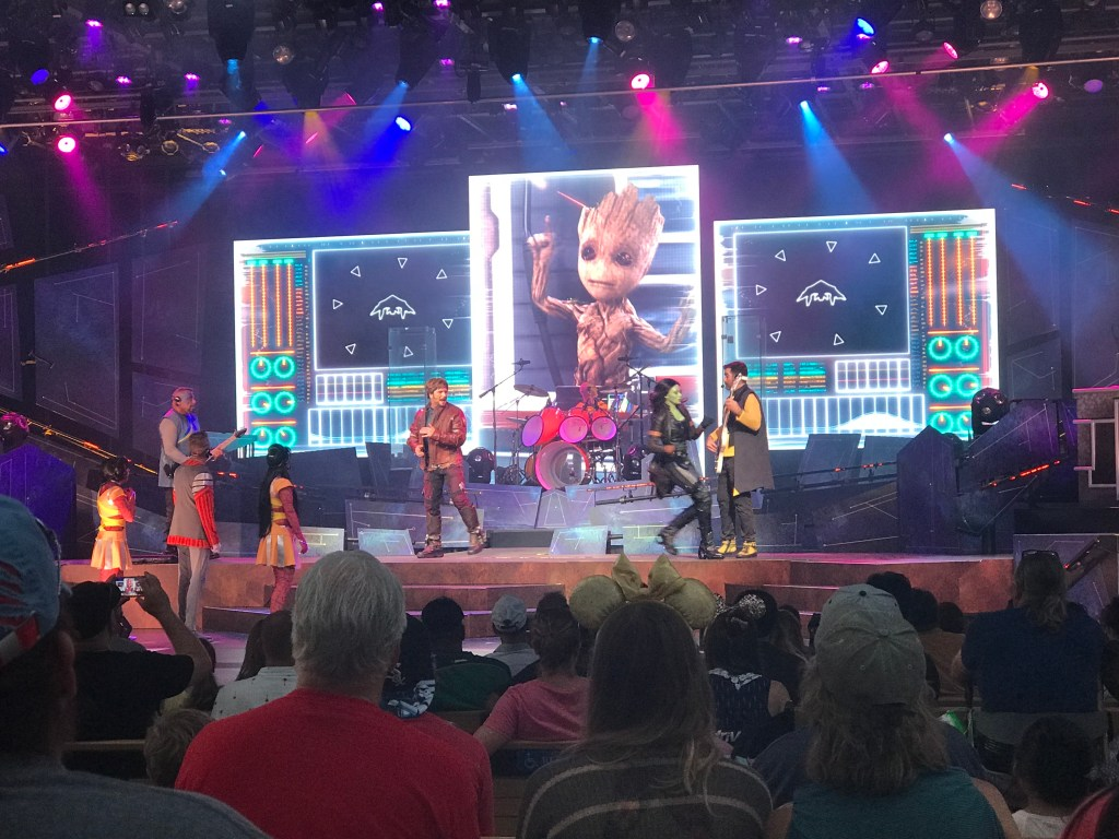 Guardians of the Galaxy - Awesome Mix Live! at Epcot