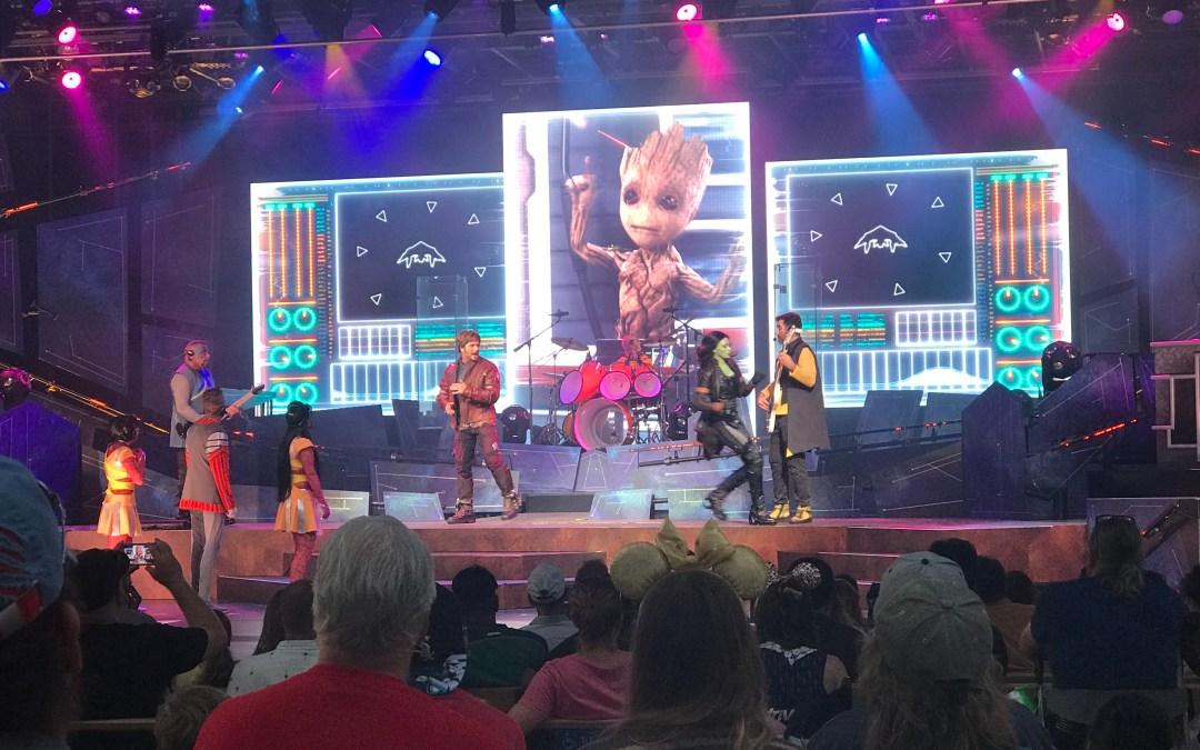 Just How Awesome is Epcot's Guardians of the Galaxy – Awesome Mix Live?