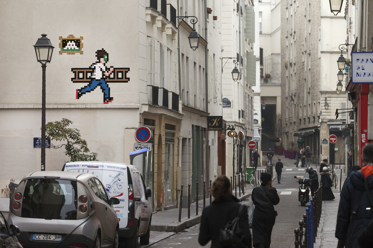 The top 15 Space Invader works in Paris