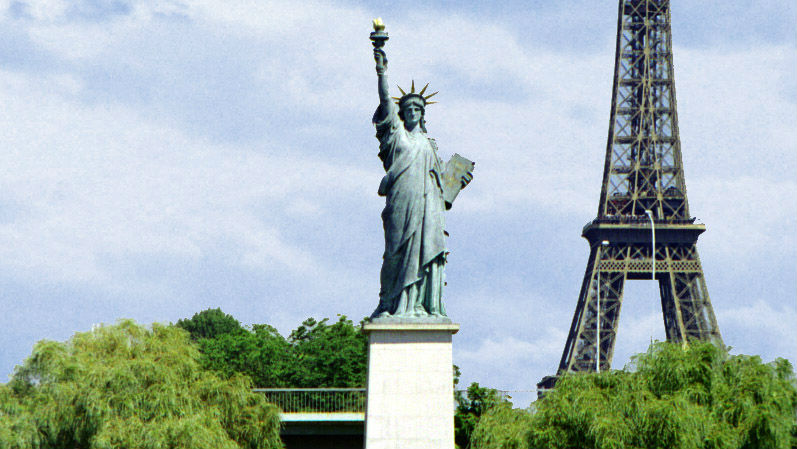 Did you know there are five Statue of Liberty replicas in Paris?