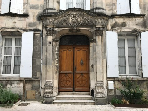 Cognac doorway